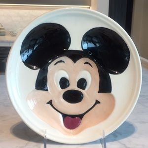 Vintage Mickey Mouse Plate